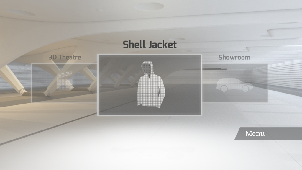 VR menu